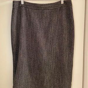 Ann Taylor suit skirt